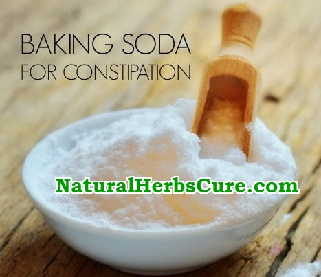 baking soda for constipation treatment