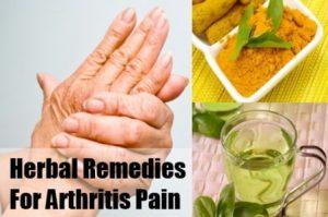 herbal remedies arthritis pain