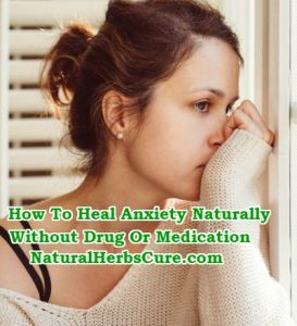 how to treat heal anxiety naturally without medication