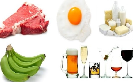 list of foods causes constipation