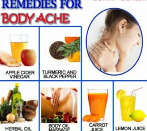 natural home remedies for body aches and pains