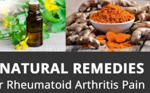 natural remedies Rheumatoid Arthritis Pain And Swelling
