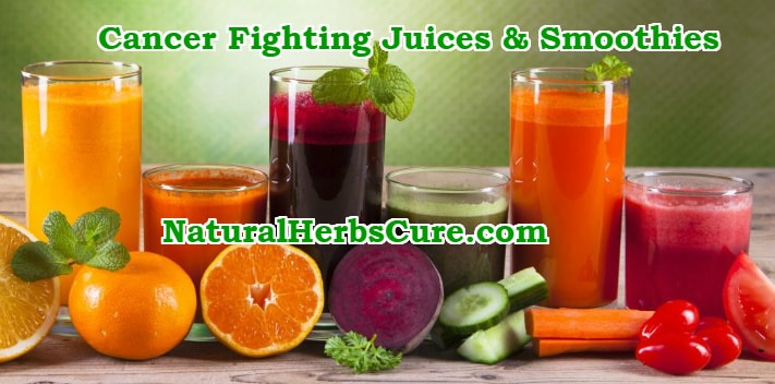cancer fighting juices smoothies