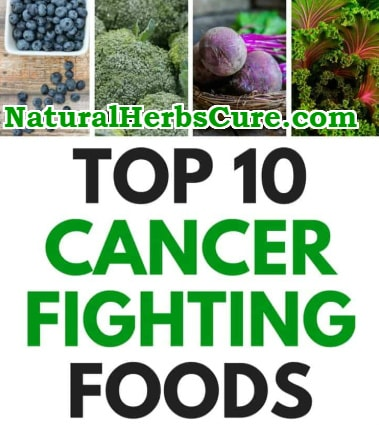 cancer prevention fighting foods list