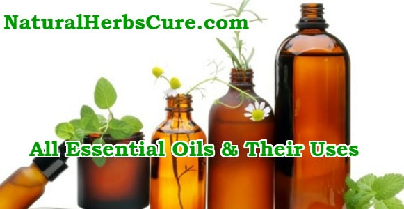 list all essential oils and their uses