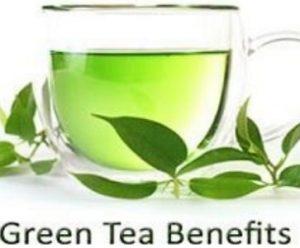 green tea health benefits hair skin