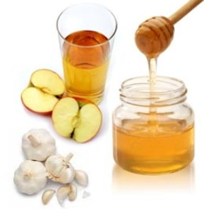 health benefits apple cider vinegar honey mixture home remedy
