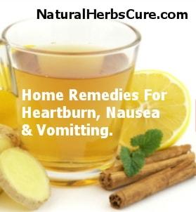 home remedies heartburn nausea indigestion