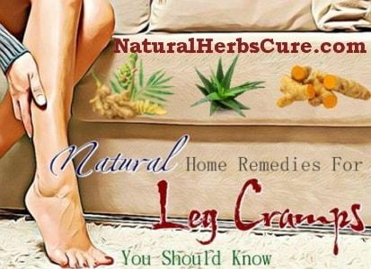 home remedies leg foot cramps