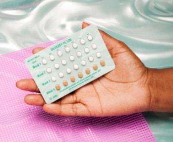 using birth control pill stop period