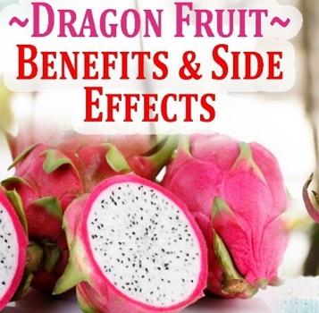dragon fruit health benefits side effects