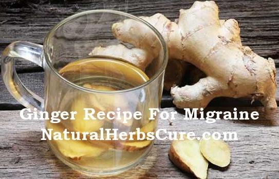 ginger tea migraine recipe
