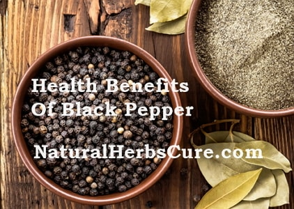 health benefits black pepper men women hair skin