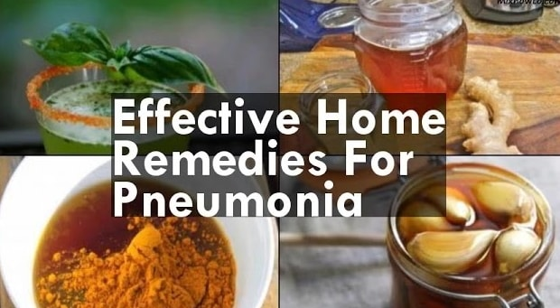 home remedies for pneumonia treatment babies adults