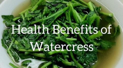 watercress health benefits side effect