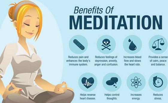 daily meditations benefits health brain body