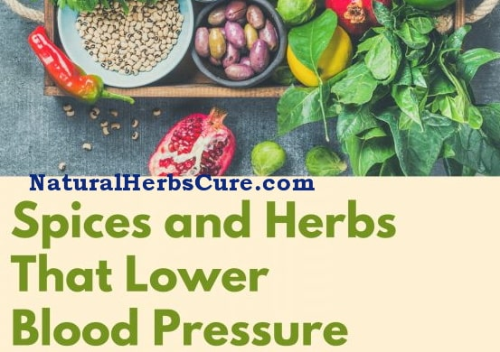 herbs spices lower high blood pressure