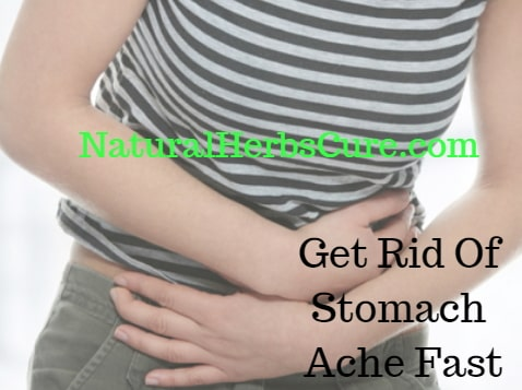 how to get rid stomach ache fast 5 minutes