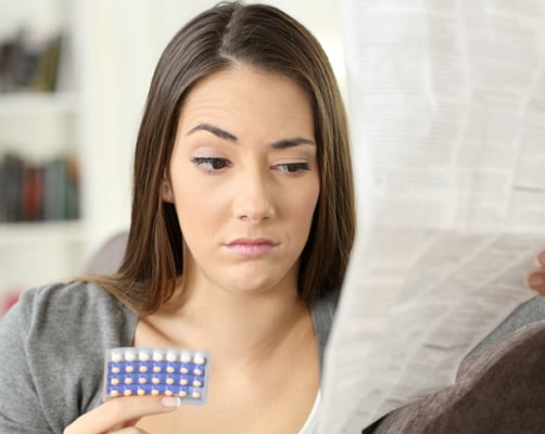 how to prevent nausea birth control pills