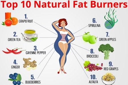 best natural fat burning foods