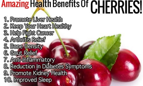 cherry benefits and side effects