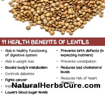 health benefits lentils side effects