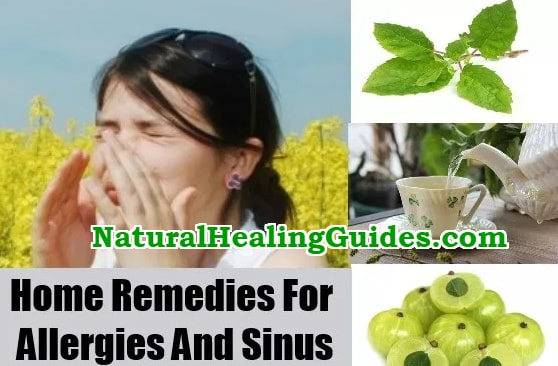 home remedies allergies sinus