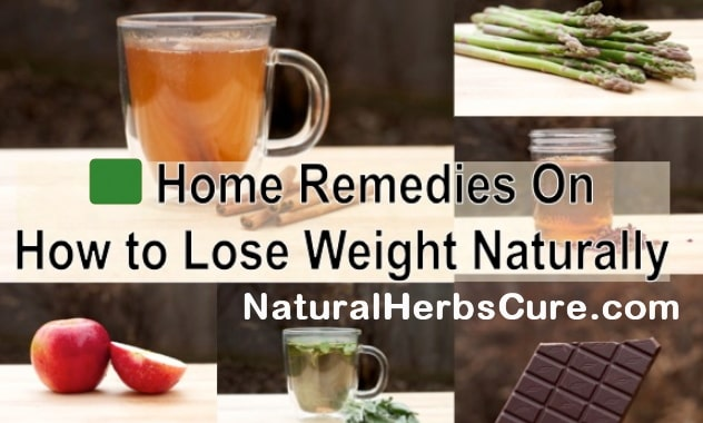 home remedies lose weight fast home