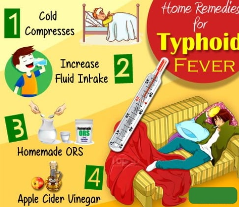home remedies typhoid fever
