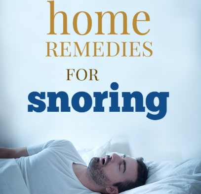 how to stop snoring naturally immediately