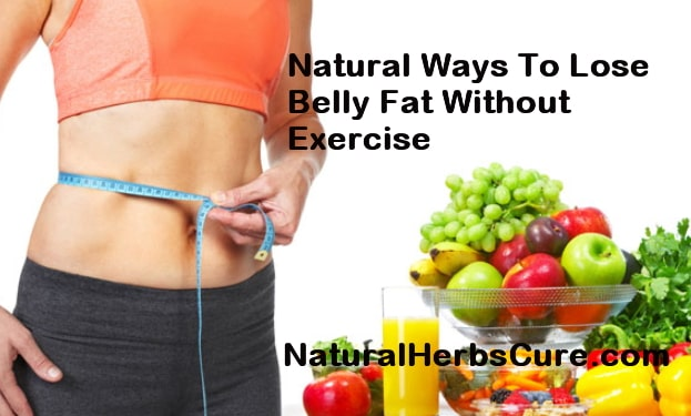 natural ways lose belly fat exercise