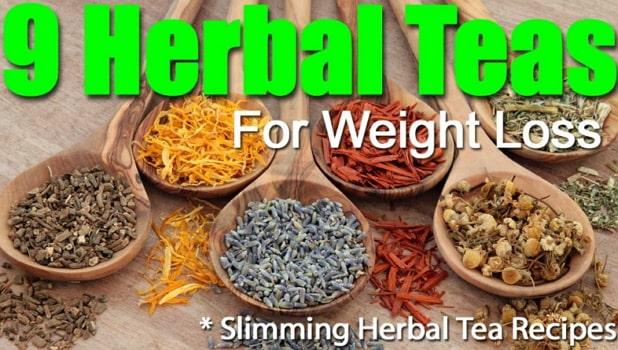natural weight loss teas recipes