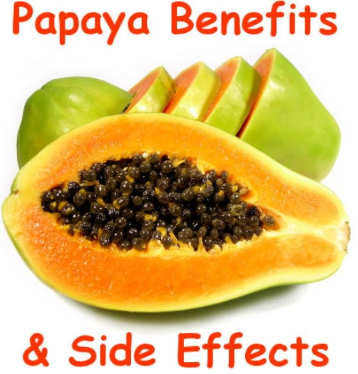 papaya benefits side effects nutrition facts