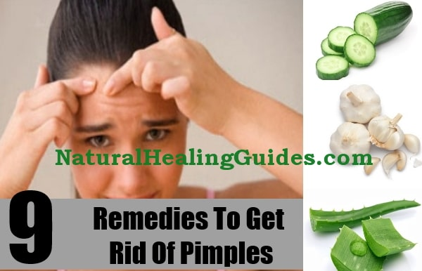 remedies get rid acne pimples black heads