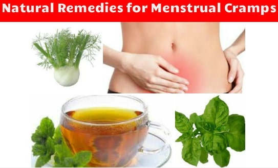 home remedies mentrual cramp period pain