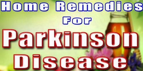 home remedies parkinson disease