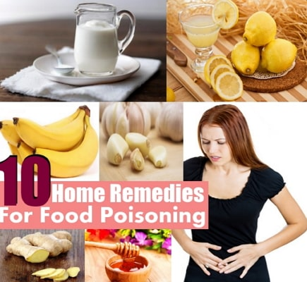 home remedies for food poisoning vomiting