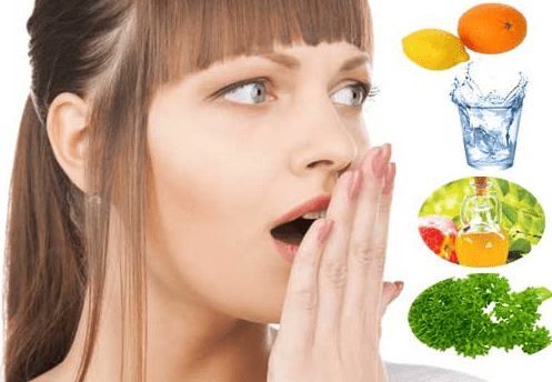 how to get rid of bad breath at home naturally